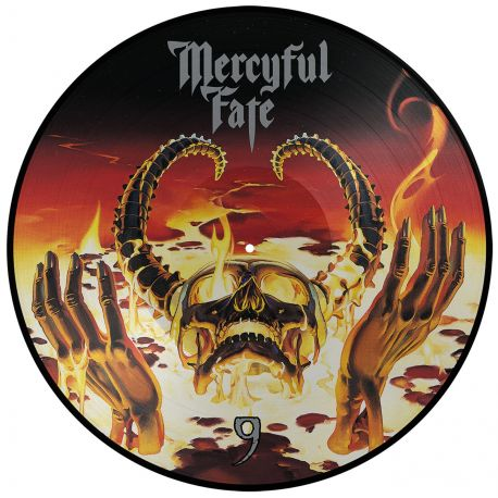 MERCYFUL FATE - 9 (1 LP) - 180 GRAM - LIMITED EDITION PICTURE DISC