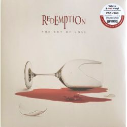 REDEMPTION - THE ART OF LOSS (2 LP) - WHITE & RED VINYL PRESSING
