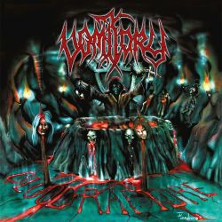 VOMITORY - BLOOD RAPTURE (1 LP) - CLEAR TROPICAL-GREEN / BLACK MARBLED VINYL