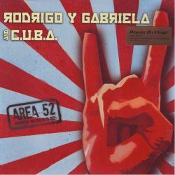 RODRIGO Y GABRIELA & C.U.B.A. - AREA 52 (2 LP) - MOV EDITION - 180 GRAM PRESSING 45 RPM