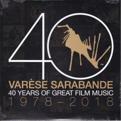 VARESE SARABANDE: 40 YEARS OF GREAT FILM MUSIC 1978-2018 (2 LP) - WYDANIE AMERYKAŃSKE