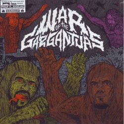 "ANSELMO H. PHILIP & WARBEAST - WAR OF THE GARGANTUAS (10"" EP) - SPLIT"