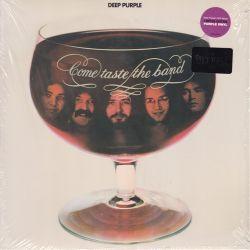 DEEP PURPLE - COME TASTE THE BAND (1 LP) - LIMITED PURPLE VINYL EDITION - WYDANIE AMERYKAŃSKIE