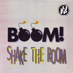 "DJ JAZZY JEFF & FRESH PRINCE - BOOM SHAKE THE ROOM (12"" SINGLE)"