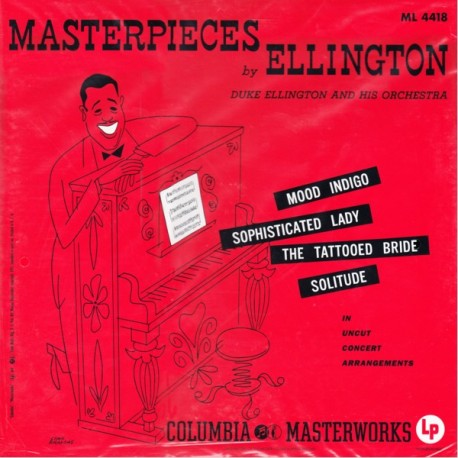 ELLINGTON, DUKE - MASTERPIECES BY ELLINGTON (1LP) - ANALOGUE PRODUCTIONS EDITION - 200 GRAM PRESSING - WYDANIE AMERYKAŃSKIE