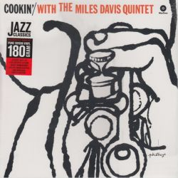 DAVIS, MILES - COOKIN\' WITH THE MILES DAVIS QUINTET (1LP) - 180 GRAM PRESSING