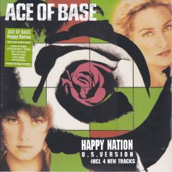 ACE OF BASE - HAPPY NATION (1 LP) - LIMITED CLEAR VINYL PRESSING