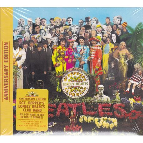 BEATLES, THE - SGT. PEPPER'S LONELY HEARTS CLUB BAND (1 CD) - ANNIVERSARY EDITION