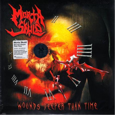 MORTA SKULD - WOUNDS DEEPER THAN TIME - 180 GRAM PRESSING (1 LP)
