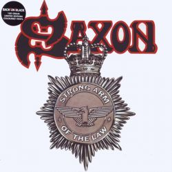 SAXON - STRONG ARM OF THE LAW (2LP) - LIMITED EDITION WHITE 180 GRAM PRESSING VINYL