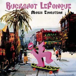 BUCKSHOT LEFONQUE - MUSIC EVOLUTION (1 CD)