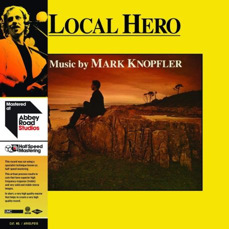 KNOPFLER, MARK - LOCAL HERO (1 LP) - HALF SPEED REMASTER - 180 GRAM PRESSING