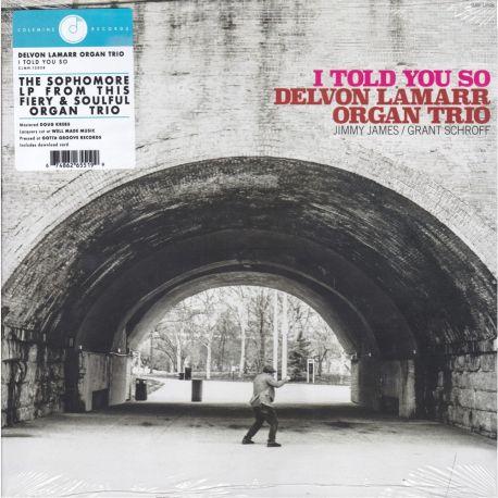 LAMARR, DELVON ORGAN TRIO - I TOLD YOU SO (1 LP) - OPAQUE PINK VINYL PRESSING