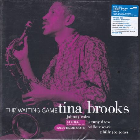 BROOKS TINA - THE WAITING GAME (1 LP) - TONE POET - WYDANIE AMERYKAŃSKE