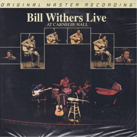 WITHERS, BILL – BILL WITHERS LIVE AT CARNEGIE HALL (1 LP) - MFSL LIMITED NUMBERED EDITION - WYDANIE AMERYKAŃSKE