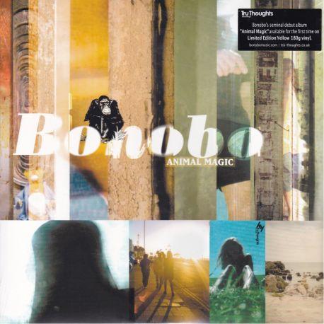 BONOBO - ANIMAL MAGIC (2 LP) - LIMITED EDITION YELLOW VINYL PRESSING