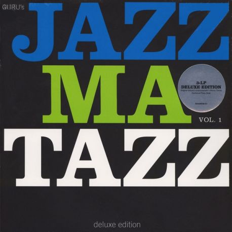 GURU - JAZZMATAZZ VOL. 1 (3 LP) - DELUXE EDITION - WYDANIE AMERYKAŃSKIE