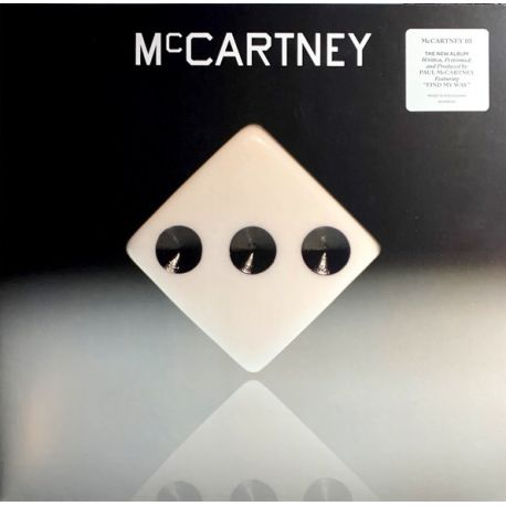 MCCARTNEY, PAUL - MCCARTNEY III (1 LP)