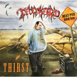 TANKARD - THIRST (1 LP) - LIMITED RED CLEAR VINYL EDITION
