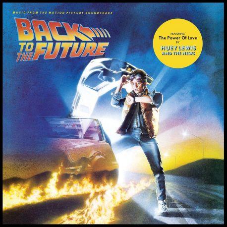 BACK TO THE FUTURE [POWRÓT DO PRZYSZŁOŚCI] - MUSIC FROM THE MOTION PICTURE SOUNDTRACK (1 LP) - WYDANIE AMERYKAŃSKIE