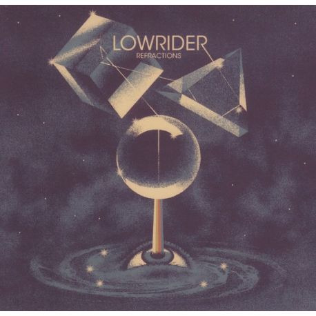 LOWRIDER - REFRACTIONS (1 LP) - TRANSLUCENT RED VINYL EDITION
