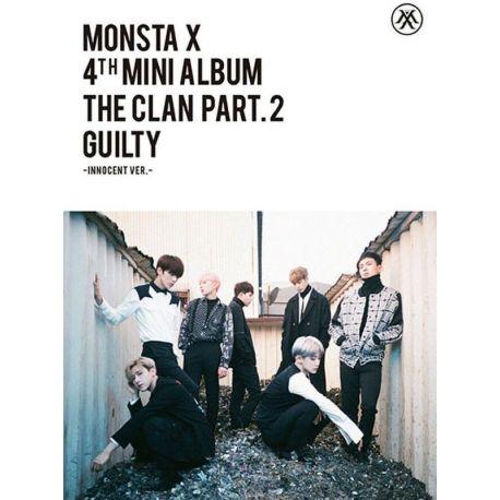 MONSTA X - THE CLAN, PT. 2 GUILTY (1 CD) - GUILTY VERSION