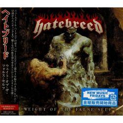 HATEBREED - WEIGHT OF THE FALSE SELF (1 CD) - WYDANIE JAPOŃSKIE