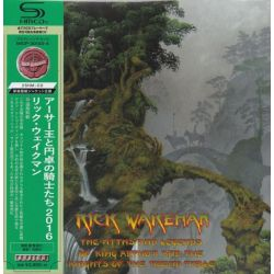 WAKEMAN, RICK - THE MYTHS AND LEGENDS OF KING ARTHUR AND THE KNIGHTS OF THE ROUND TABLE (2 SHM-CD) - WYDANIE JAPOŃSKIE
