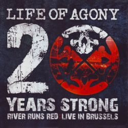 LIFE OF AGONY - 20 YEARS STRONG RIVERS RUNS RED: LIVE IN BRUSSELS (2LP) - 180 GRAM PRESSING