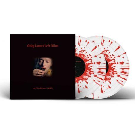 ONLY LOVERS LEFT ALIVE [TYLKO KOCHANKOWIE PRZEŻYJĄ] - JOZEF VAN WISSEM / SQÜRL (2 LP) – CLEAR / RED SPLATTER - WYDANIE USA