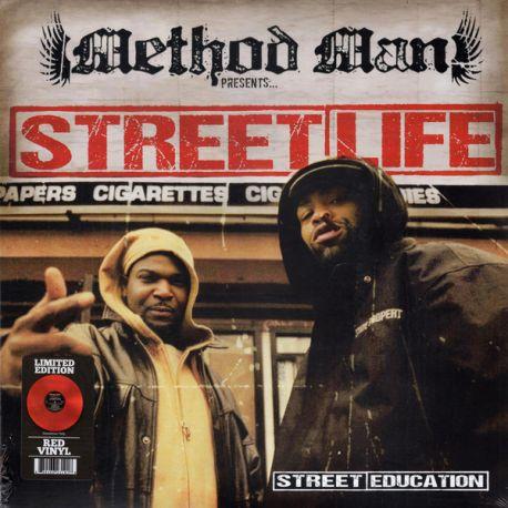 STREET LIFE - STREET EDUCATION (1 LP) – LIMITED EDITION RED VINYL - WYDANIE AMERYKAŃSKIE