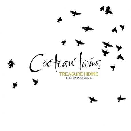 COCTEAU TWINS - TREASURE HIDING: THE FONTANA YEARS (4 CD)