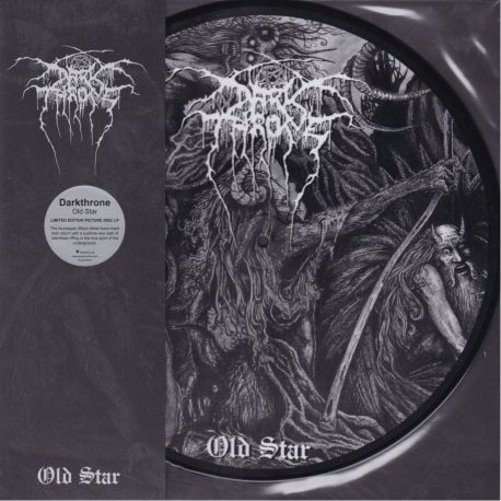DARKTHRONE - OLD STAR (1 LP) - LIMITED EDITION, PICTURE DISC