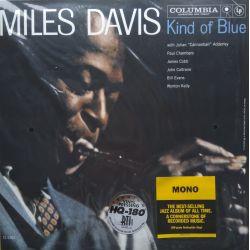 DAVIS, MILES - KIND OF BLUE (1 LP) - MONO 180 GRAM PRESSING - WYDANIE AMERYKAŃSKIE