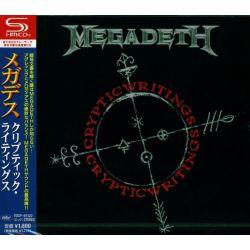 MEGADETH - CRYPTIC WRITINGS (1 SHM-CD) - WYDANIE JAPOŃSKIE