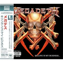 MEGADETH - KILLING IS MY BUSINESS... AND BUSINESS IS GOOD! (1 BSCD2) - WYDANIE JAPOŃSKIE