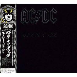 AC/DC - BACK IN BLACK (1 CD) - WYDANIE JAPOŃSKIE