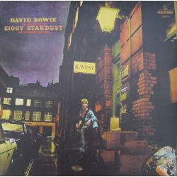 BOWIE, DAVID - THE RISE AND FALL OF ZIGGY STARDUST AND THE SPIDERS FROM MARS (1 LP) - 180 GRAM PRESSING