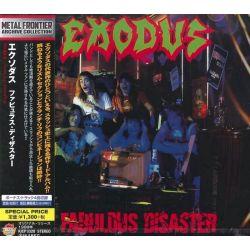 EXODUS - FABULOUS DISASTER (1 CD) - WYDANIE JAPOŃSKIE