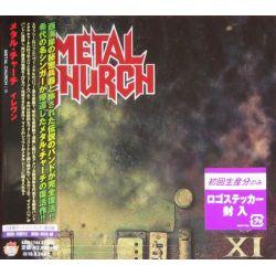METAL CHURCH - XI (1 CD) - WYDANIE JAPOŃSKIE