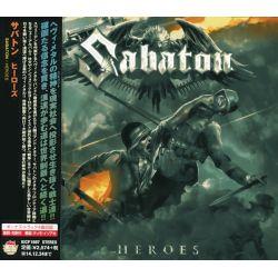 SABATON - HEROES (1 CD) - WYDANIE JAPOŃSKIE