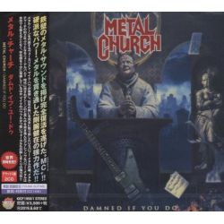 METAL CHURCH - DAMNED IF YOU DO (2 CD) - WYDANIE JAPOŃSKIE