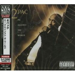 2PAC - ME AGAINST THE WORLD (1 CD) - WYDANIE JAPOŃSKIE