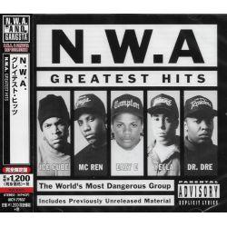 N.W.A. - GREATEST HITS (1 CD) - WYDANIE JAPOŃSKIE