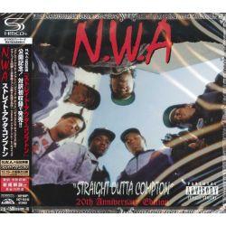 N.W.A. - STRAIGHT OUTTA COMPTON 20TH ANNIVERSARY (1 SHM-CD) - WYDANIE JAPOŃSKIE