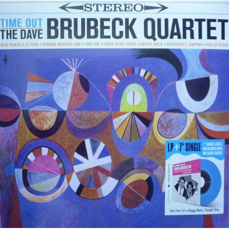 "BRUBECK, DAVE QUARTET - TIME OUT (1 LP + 7"" SINGLE)"