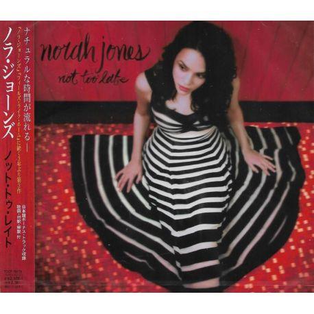 JONES, NORAH - NOT TOO LATE (1 CD) - WYDANIE JAPOŃSKIE