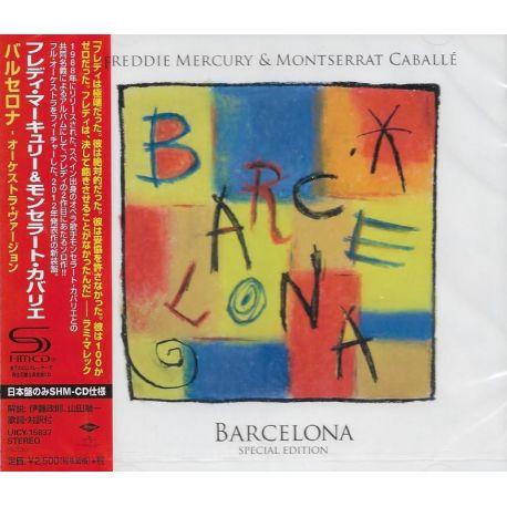 MERCURY, FREDDIE & MONTSERRAT CABALLE - BARCELONA (1 SHM-CD) - WYDANIE JAPOŃSKIE