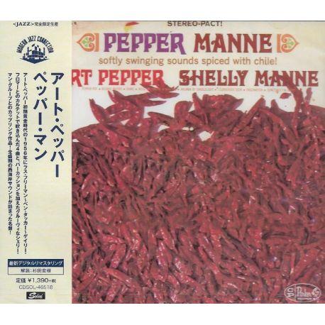 PEPPER, ART & SHELLY MANNE - PEPPER MANNE (1 CD) - WYDANIE JAPOŃSKIE