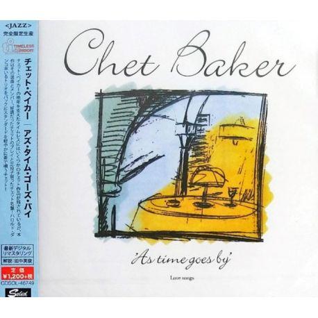 BAKER, CHET - AS TIME GOES BY (1 CD) - WYDANIE JAPOŃSKIE